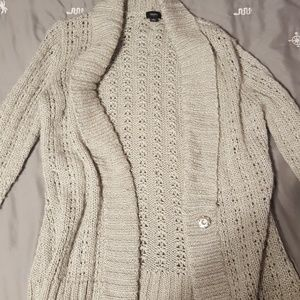Mossimo sweater with metallic detail